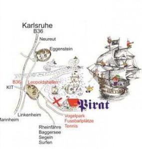 Findeplan zum Pirat
