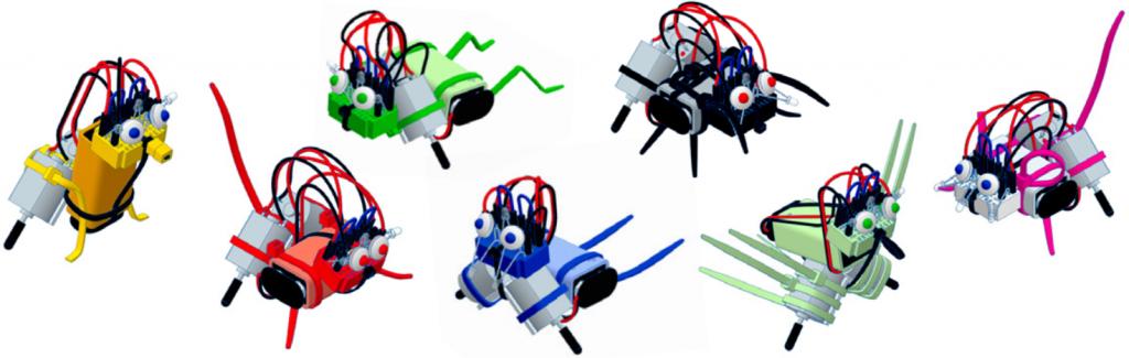 varikabi Roboterbausatz - 7 Modelle Verpackung